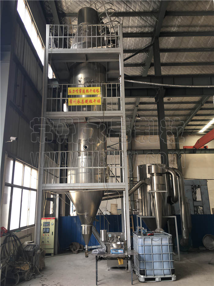 graphene granulating spray dryer