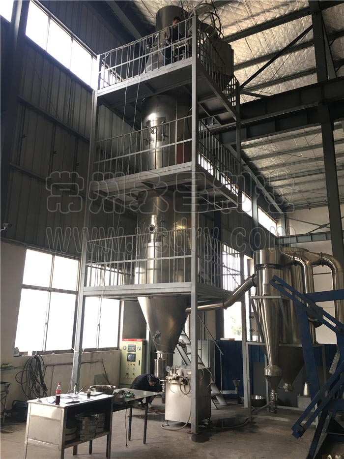 whey protein powder spray granulating equipment