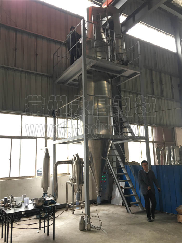 Acetic acid calcium salt spray granulating equipment