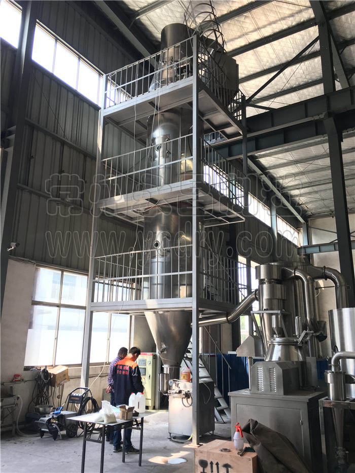 animal albumen spray granulating equipment