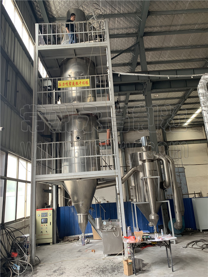 table salt pressure granulating spray dryer